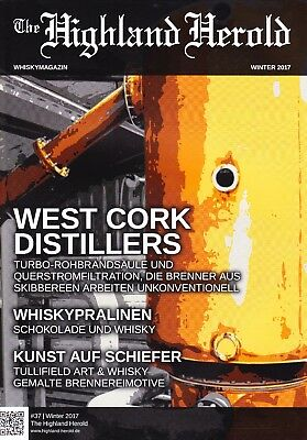 THE HIGHLAND HEROLD, Whiskymagazin, Winter 2017, Ardbeg an oa, Whiskypralinen