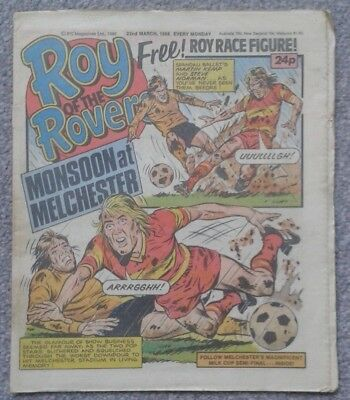 ROY of the ROVERS Comic - 22nd March 1986