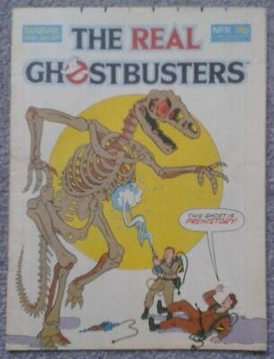THE REAL GHOSTBUSTERS Comic - No. 31, 14th January 1989