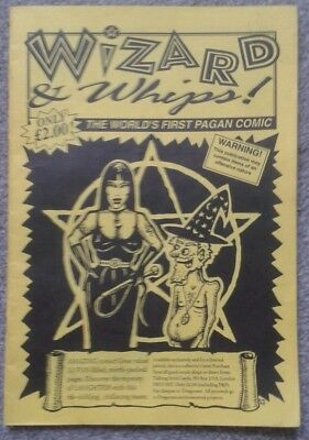 """WIZARD & WHIPS """"The World's First Pagan Comic"""" c1995 RARE"""