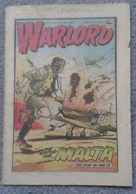 WARLORD Comic No. 494 - March 10th, 1984