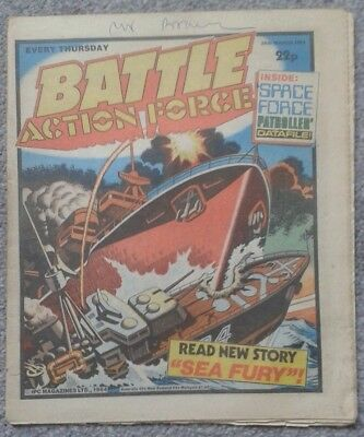 BATTLE ACTION FORCE Comic - 24th March 1984