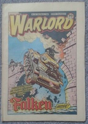 WARLORD Comic No. 601 - March 29th, 1984