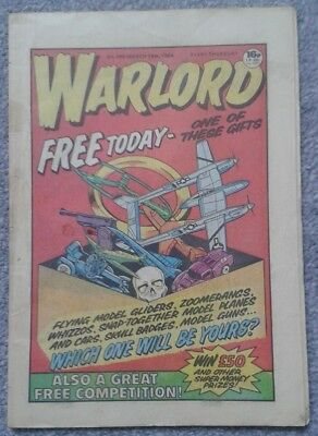 WARLORD Comic No. 496 - March 24th, 1984