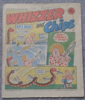 WHIZZER and CHIPS Comic - 10th March 1984
