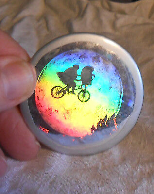 Hologram E.T. The Extraterrestrial Holographic Button 2 1/4""
