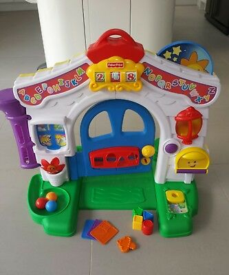 Fisher Price Laugh And Learn House Door Interactive Baby Toy Musical