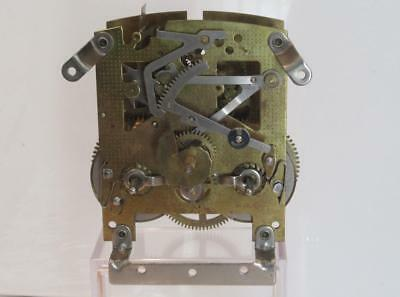 Vintage 1950s Smiths Enfield 8 Day Time & Strike Mantle Clock Movement In G.W.O
