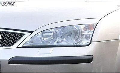 Headlight Brows Eyelids Eyebrows For Ford Mondeo Mk3 7/00 - 6/07 Nice Gift