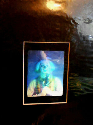 "Hologram Clown FIlm Color 2 1/4"" x 2 3/4"" Matted"