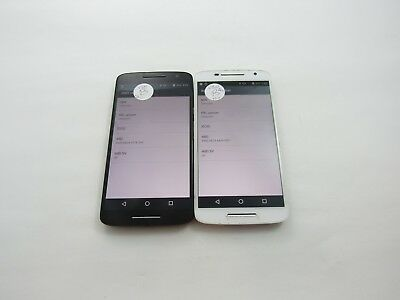 Lot of 2 Motorola Droid Maxx 2 XT1565 Verizon Check IMEI Grade D 4-1206