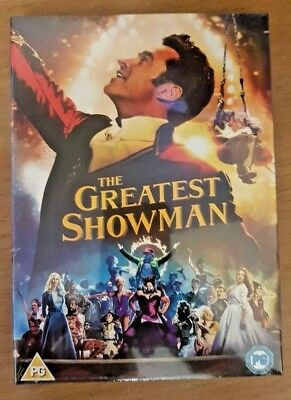 THE GREATEST SHOWMAN new DVD FILM WITH SINGALONG EDITION