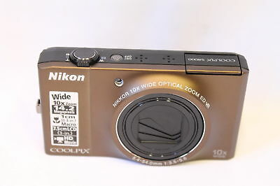 Nikon Coolpix S8000 14.2MP Digital Camera with 10X Optical Zoom