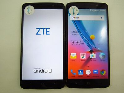 Lot of 2 ZTE Blade Max 3 Z986U U.S. Cellular Check IMEI Grade C 5-067