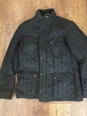 Rare Limited Edition Barbour To Ki To Motor Cycling Jacket Black Xxl (M-Large)