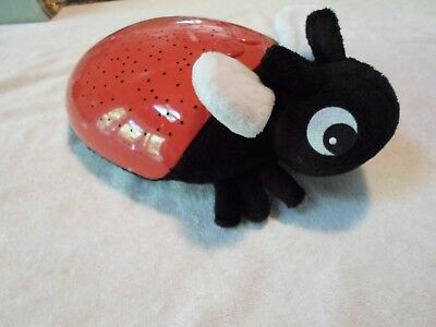 Discovery Kids Constellation Projection Firefly / Lady Bug Star Light - Red