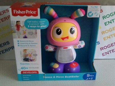 Fisher-Price Dance & Move Beat Belle NEW Small Tear In Box