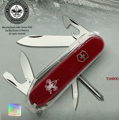 Victorinox  Boy Scout Knife  ~ Red Tinker