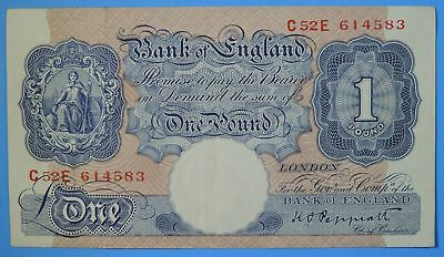 1940 - 48 Bank of England London One 1 Pound Note