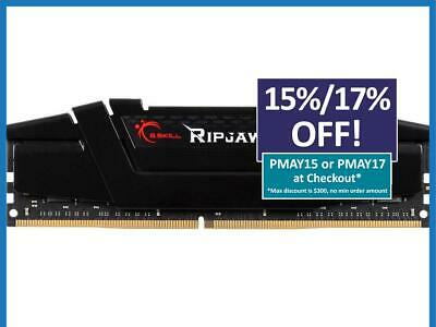 G.Skill Ripjaws V 16GB 1x16GB DDR4 3200MHz CL16 Gaming Desktop Memory RAM Kit