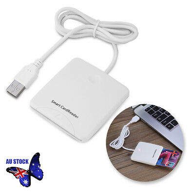 STW USB Credit Card Reader Chips IC Cards Writer With SIM Slot For Smart Cards
