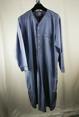 Men's XL BROOKS BROTHERS light blue cotton NIGHT Shirt AND at $9.99