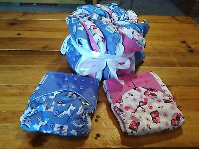 Reusable nappies with Bamboo Inserts