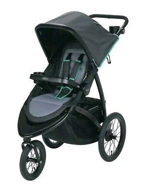 NEW Graco RoadMaster Jogging Exercise Stroller - Lake Green (2013733)