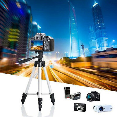 Lightweight Portable Camera Tripod  Bluetooth and Bag for DSLR Camera Cell Phone