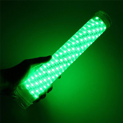 30W LED Green Underwater Submersible Fishing Light 2400LM Boat Squid Fish Lamp