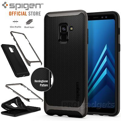 Galaxy A8 2018 Case, Genuine SPIGEN Dual Layer Neo Hybrid Cover for Samsung
