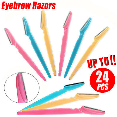 Face Facial Eyebrow Razor Trimmer Shaper Shaver Blade Knife Hair Remover Tinkle