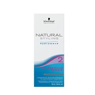 Schwarzkopf Natural Styling Hydrowave Glamour Wave Kit 2 - Tinted/Highlighted