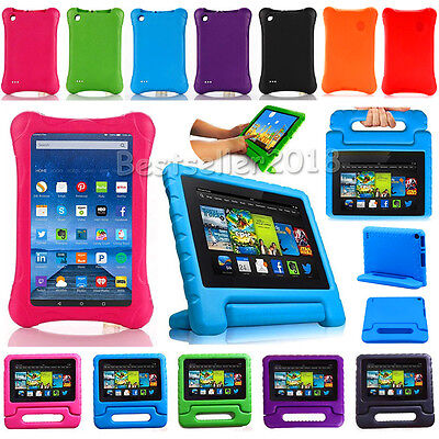 """For Amazon Kindle Fire 7 HD 8"""" 2015-2017 Tablet Shock Proof Kids Foam Case Cover"""