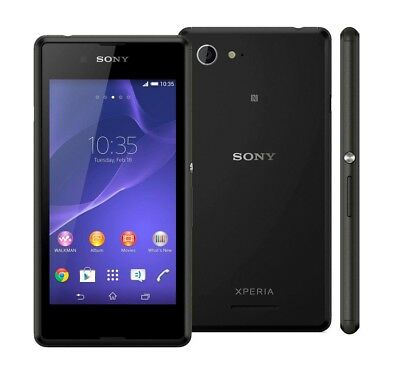 Sony XPERIA E3 in Black Handy Dummy Attrappe - Requisit, Deko, Werbung