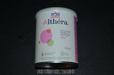 SMA Nutrition 450g Tub Althera® *Cows Milk Allergy Formula* Expiry 31.5.2020