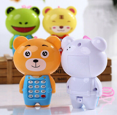 Cute Magic Baby Kids Cartoon Music Phone Toys Educational Learning Phone Gift