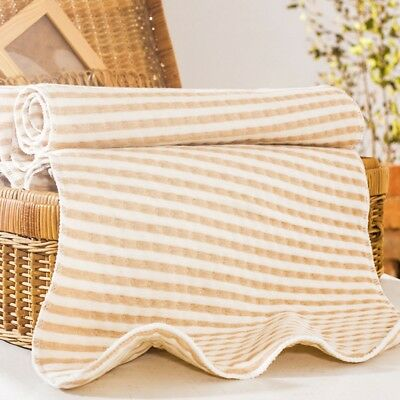 46*17cm Natural Cotton Baby Cotton Diaper Not Dyed Nappy Reusable Baby Supplies