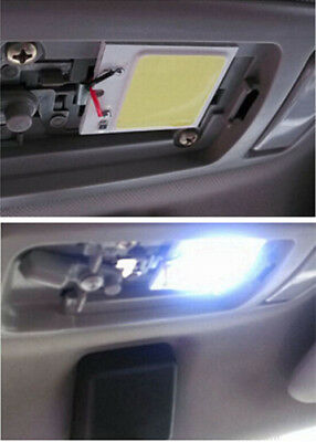48 SMD Panel Lights COB Lamp Bulb White Light Car Interior Dome 12V T10 4W LED