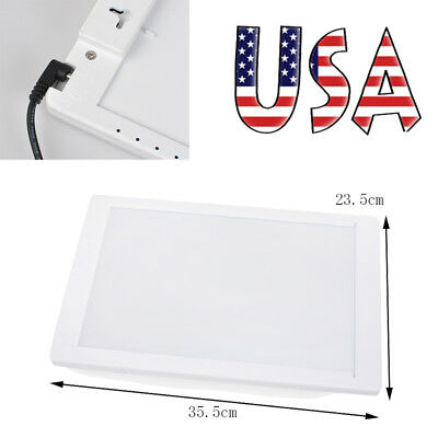 Dental Lab X-Ray Film Illuminator Light Panel Screen Xray film Viewer light Box