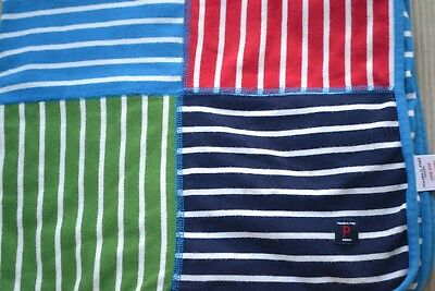 Polarn O Pyret POP CIRCUS STRIPE Eco Patchwork Unisex Blanket Limited Edition