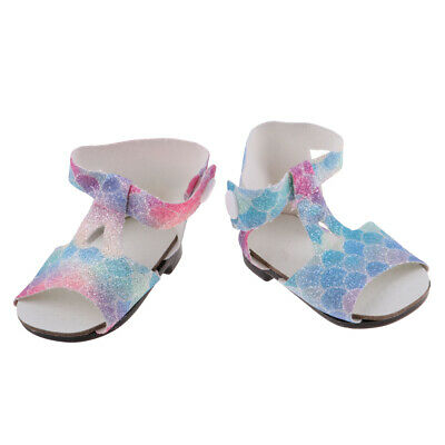 """Cute Sandals Shoes for 18"""" American Girl Our Generation My Life Doll Outfit"""