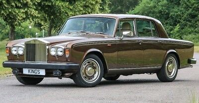 ROLLS ROYCE SILVER SHADOW II Absolutely Amazing Stunning and Unique 5799 miles