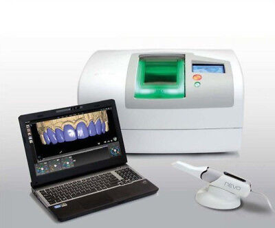 E4D CAD/CAM Planmeca Mill, Scanner, Laptop, Ivoclar Oven w/FreeShipping,Warranty