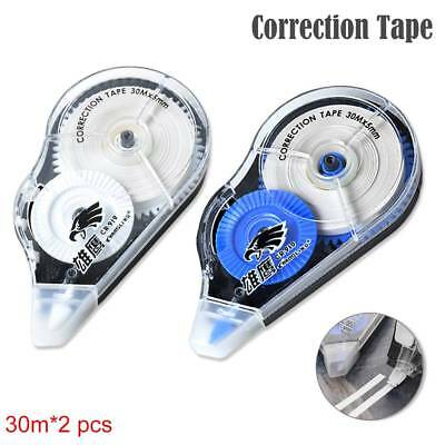 30m Roller Correction Tape Decorative White Out School Office Supply Stationery