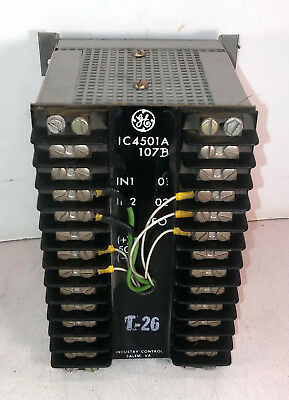 1 Used Ge Ic4501A107B Current Isolator Module ***make Offer***