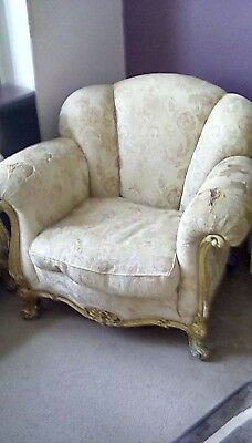 Antique period sofa and Chairs