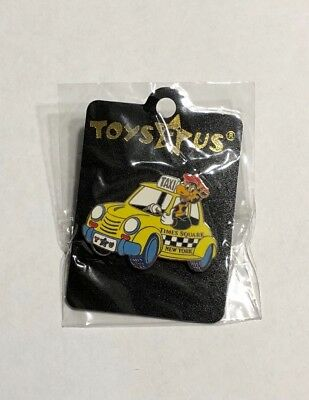 TOYS R US Geoffrey NYC TIMES SQUARE Taxi Cab Team Member PIN