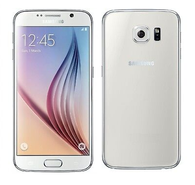 Samsung Galaxy S6 in Weiß Handy Dummy Attrappe - Requisit, Deko, Werbung