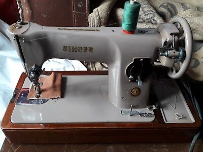 Singer 201k Electric Semi Industrial Sewing Machine Heavy Duty Leather